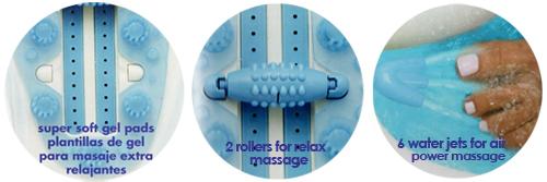 Conair Deluxe Massaging Spa Foot Bath